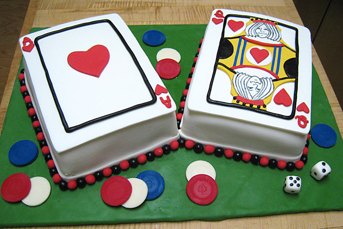 Birthday Cake Images Card : Playing Card Cake A Creative Touch