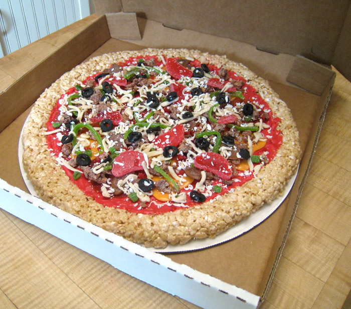 Combination Candy Pizza