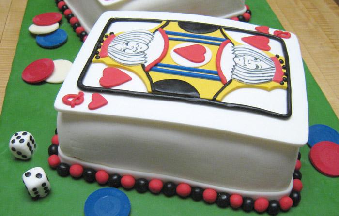 Playing Card Cake