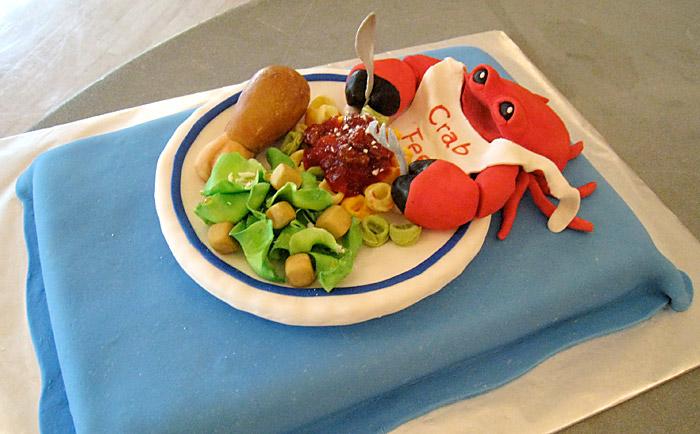 Crab Feed Cake
