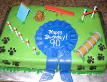 Dog Training Cake