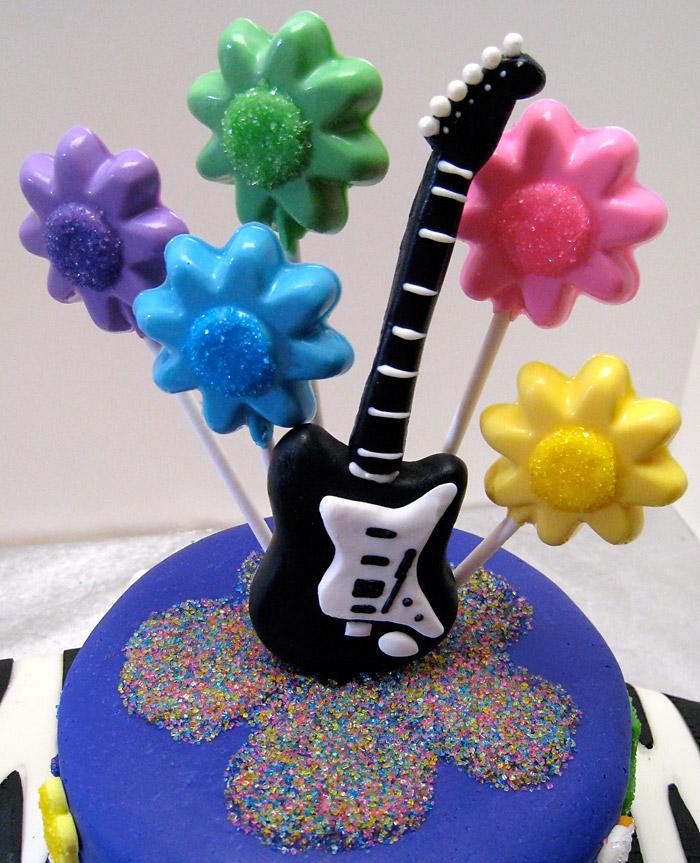 Rockin' Guitar Cake
