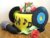 karaoke lovers cake