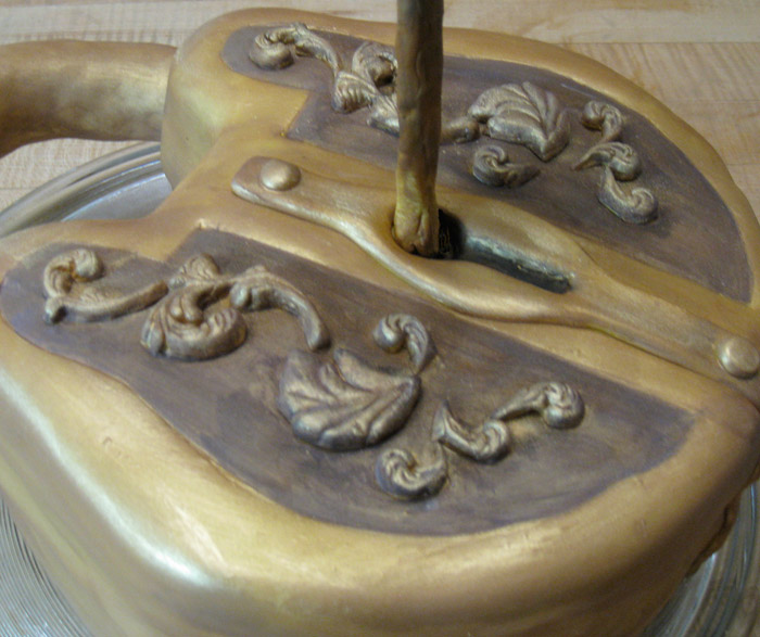 Lock and Key Cake