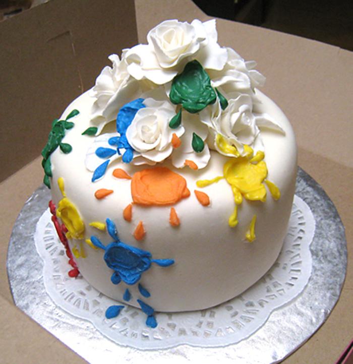 Duo Birthday Cake