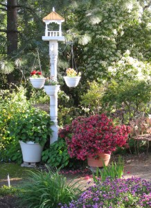Garden Bird Gazebo Plant Hanger