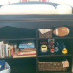 Cabinet and changing table