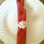 monkey paw knot napkin ring