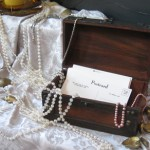 postcards treasure chest to personalize