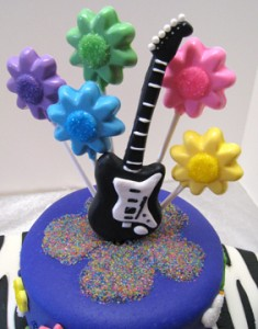 guitar and lollipops