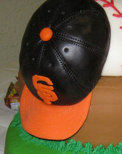 San Francisco Giant's hat