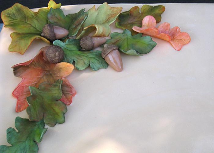 Autumn Leaves Cake