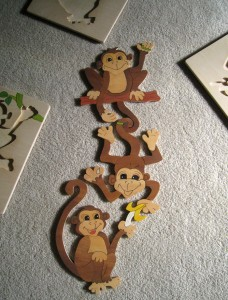 Trio of monkeys