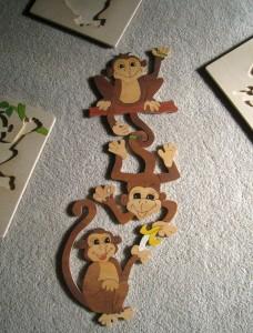 Trio of monkeys