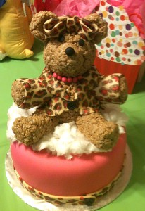 Build-a-Bear party cake