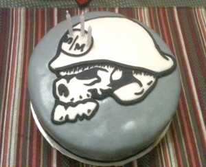 Fan of Metal Mulisha gets his birthday cake