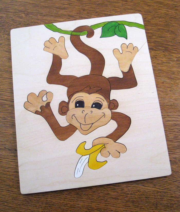 Happy Trio of Monkeys