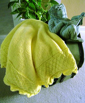 Cuddle soft baby blanket