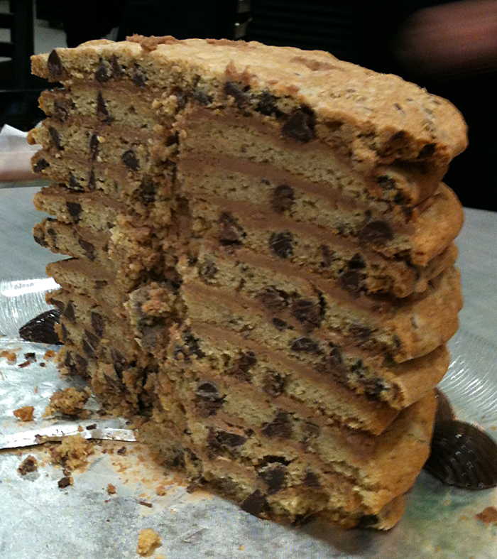 """Stacked Cookie """"Cake"""""""