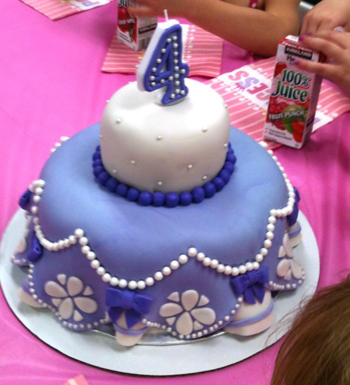 Sophia Birthday Cake