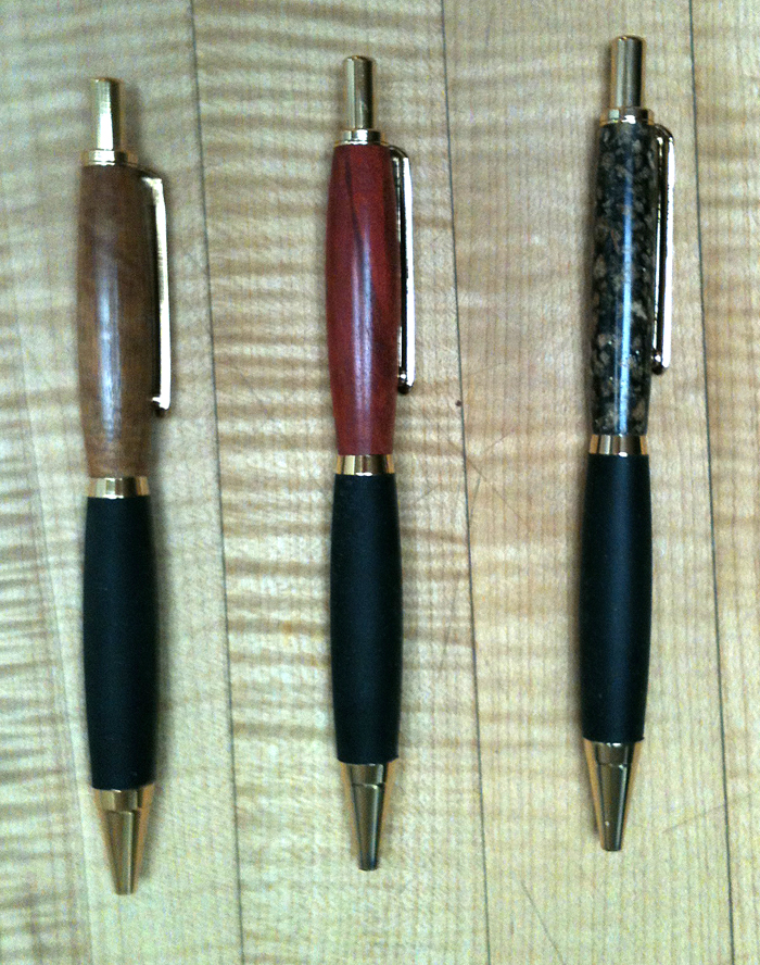 Pretty Turned Pens