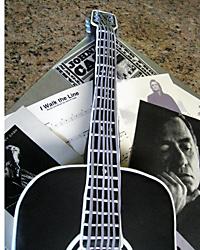 Johnny Cash Guitar Cake