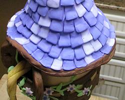 Rapunzel's Tower Cake