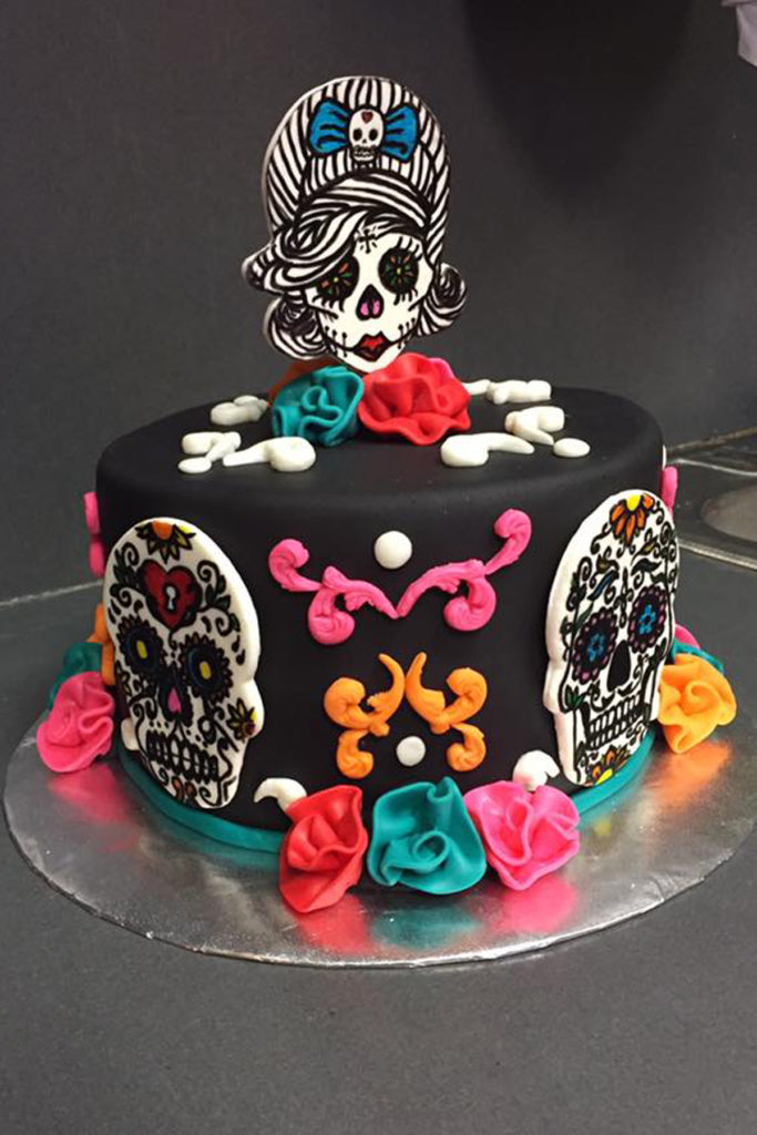 Day of the Dead Birthday Cake A Creative Touch