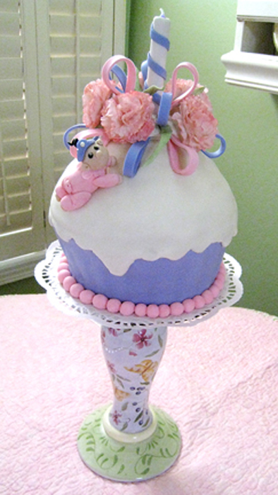 Giant Princess Cupcake