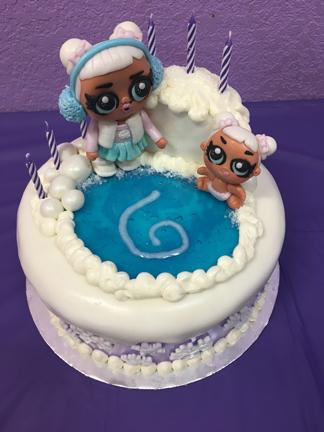 LOL Surprise Doll Cake