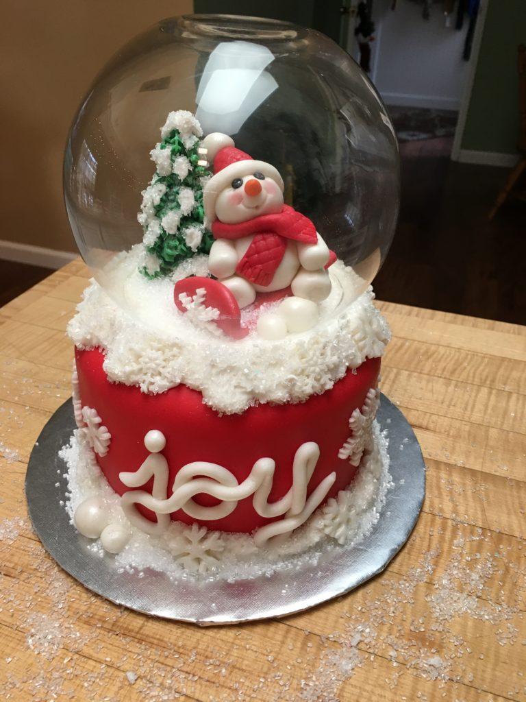 Joyful Holiday Cake