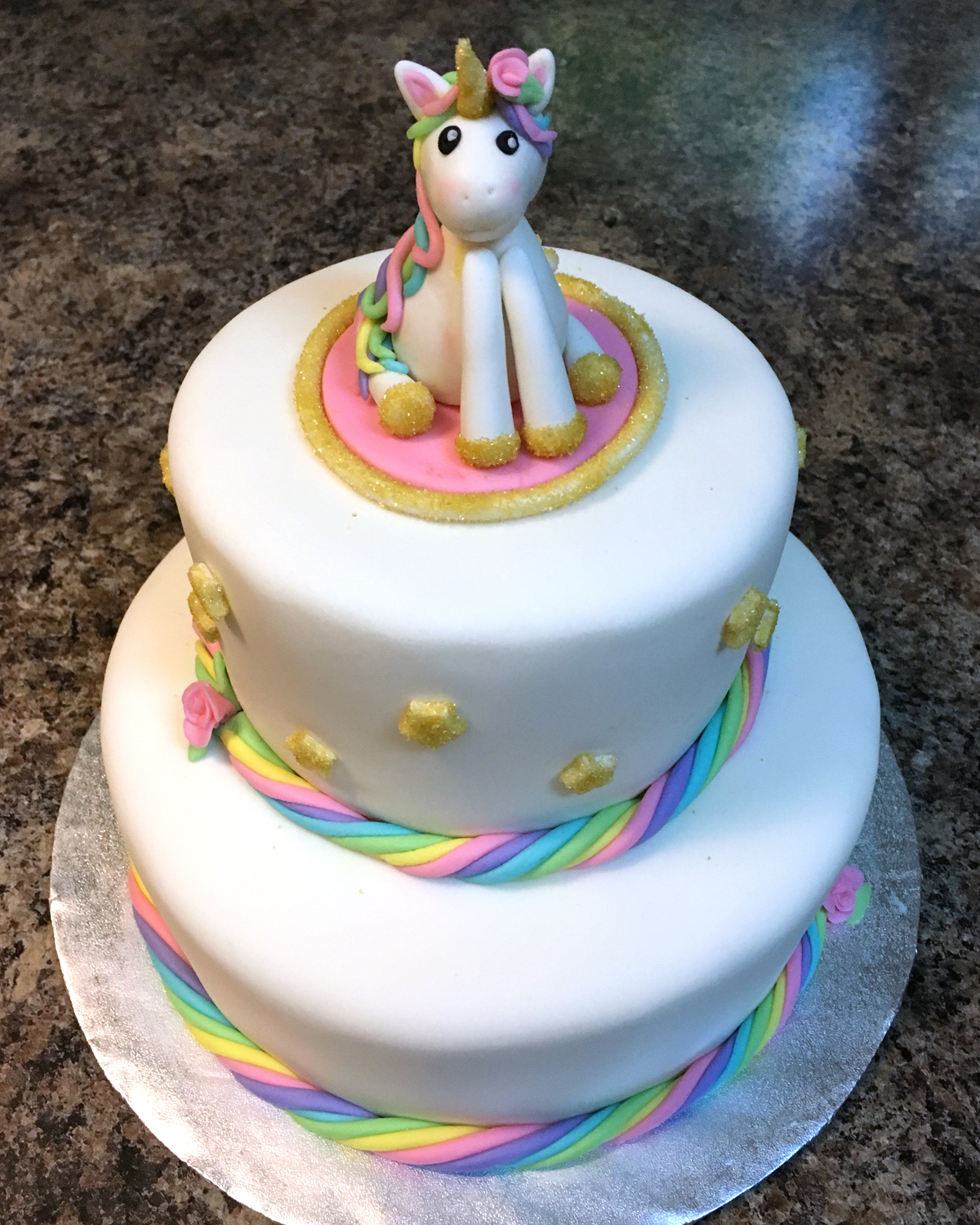Unicorns & Rainbows for Elisabeth…