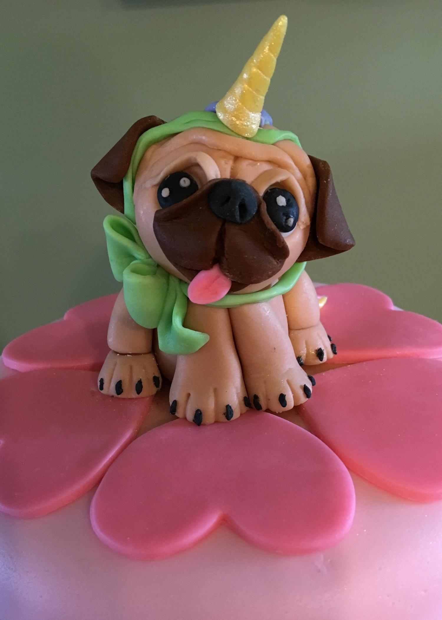 A Pug Unicorn Cake?!